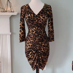 ZARA☆Cheetah Print Dress